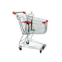 Metal Shopping Cart 60 Liters