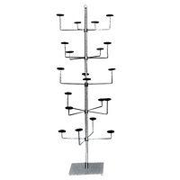 Chrome Floor Hat Stand