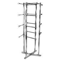 Chrome Folding Lingerie Tower