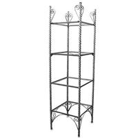 Raw Steel Eteger Display Shelf Shelving Rack