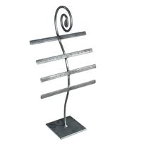 16 Inch Earring Jewelry Display Raw Steel