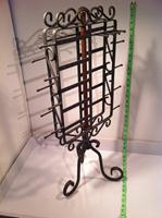 Counter Top Earring Necklace Jewelry Rack Spinner
