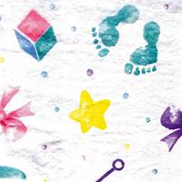 Baby Print Tissue Paper