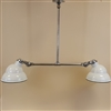 White Enamel Shade Billiard