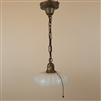 Camphor Glass Shade on Vintage Hardware