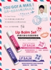 NRK Lip Reparing & Smoothing Lip Balm Set (HA Intense Hydrating Lip Balm/Vitamin ACE ageless Lip Balm) NRK修護抗皺全效護唇膏組 45g x2 (NRK玻尿酸保濕護唇膏/NRK ACE凍齡修護唇膏)
