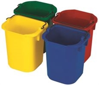 PAILS DISINFECTING 5 QT SET OF 4 COLORS