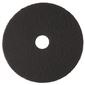 RENOWN BLACK STRIPPING PAD 13 IN.