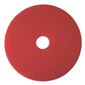 RENOWN BUFFING PAD, RED, 13 IN.