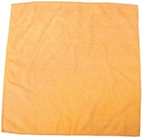 RENOWN MICROFIBER CLOTH, YELLOW, 16X16 IN.