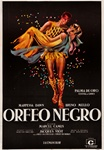 Black Orpheus Original Argentine One Sheet