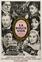 La Dolce Vita Original Argentine One Sheet