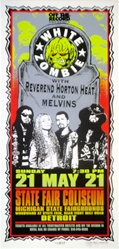 Mark Arminski White Zombie Original Rock Concert Poster