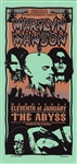 Mark Arminski Marilyn Manson Original Rock Concert Handbill