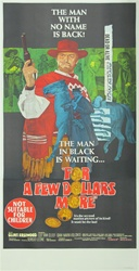 For A Few Dollars More Original Australian Three Sheet