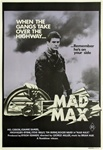 Mad Max Original Australian One Sheet