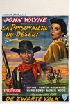 The Searchers Belgian Movie Poster