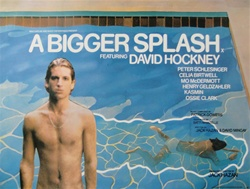 British Quad A Big Splash Original Movie Poster