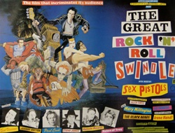 British Quad The Great Rock N Roll Swindle Original Movie Poster