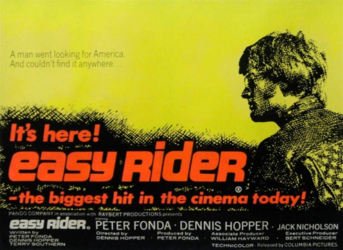 British Quad Easy Rider Easy Rider Movie Poster