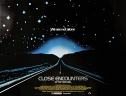 British Quad Close Encounters Original Movie Poster