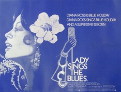 British Quad Lady Sings The Blues Original Movie Poster