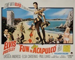 British Quad Fun In Acapulco Original Movie Poster