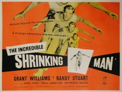 British Quad The Incredible Shrinking Man Original Movie Poster