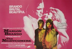 British Quad The Nightcomers Original Movie Poster