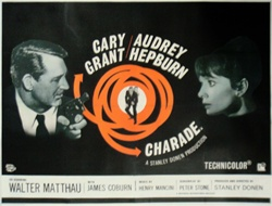 British Quad Charade Original Movie Poster