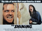 British Quad The Shining Original Movie Poster