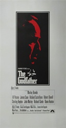 The Godfather Original British Three Sheet