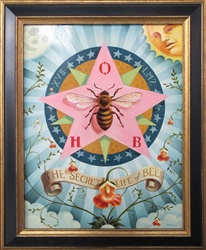 Chris Buzelli The Secret Life of Bees Original Painting