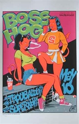 Coop Boss Hog Original Rock Concert Poster