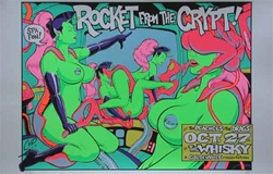 Coop Rocket From The Crypt Original Rock Concert Poster