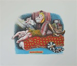 Robert Crumb Nightmare Limited Edition Silkscreen