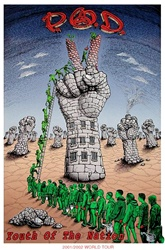 Emek P.O.D. Youth of the Nation Original Rock Concert Poster