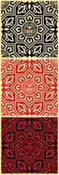 Shepard Fairey Venice Patterns 3 Screen Print Set