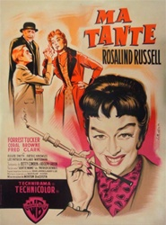 Original French Movie Poster Auntie Mame