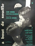 Original French Movie Poster Breathless