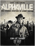 Original French Movie Poster Alphaville