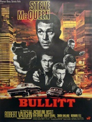 Original French Movie Poster Bullitt