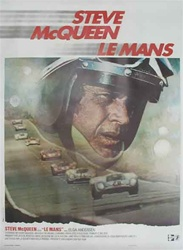 Original French Movie Poster Le Mans