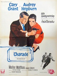 French Movie Poster Charade