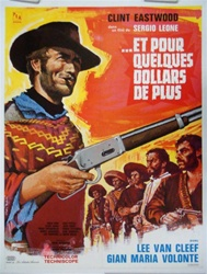 Original French Movie Poster For A Few Dollars More