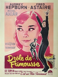 French Movie Poster Funny Face