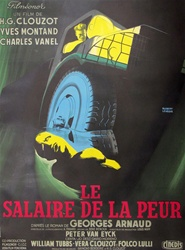 French Movie Poster Wages of Fear