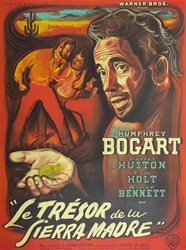 French Movie Poster The Treasure Of The Sierra Madre