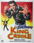 French Movie Poster King Creole