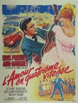 French Movie Poster Viva Las Vegas